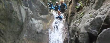 Barranquismo con Valencia Adventure