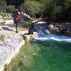 Descenso de barrancos en Jaén