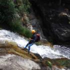 Descenso de barrancos en el Valle del Jerte