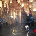 Espeleo-barranquismo en las Cuevas Valporquero en León